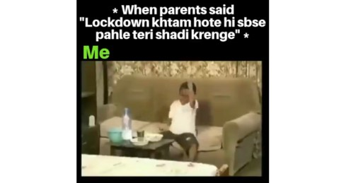 Mummy Says Lockdown Ke Baad Teri Shaadi Karani Hai – Funny Status Video