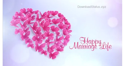 Happy Marriage Life Wishes Whatsapp Status Video