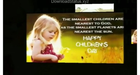 Happy Childrens Day Special Whatsapp Status Video