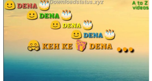 Download Happy Birthday Gift Song On Whatsapp Status