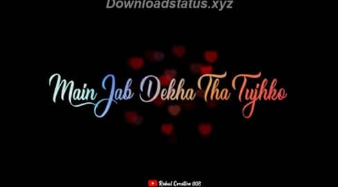 Lut Gaye Status Romantic Whatsapp Status Video