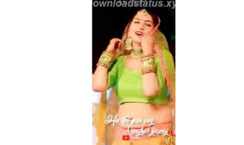 Peele Rang Ka Ghagra – Haryanvi Status Video