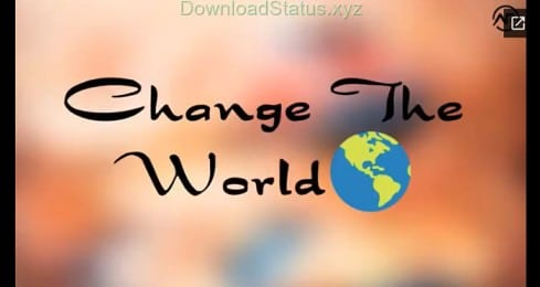Change the World – Teachers Day Special Video Status Download