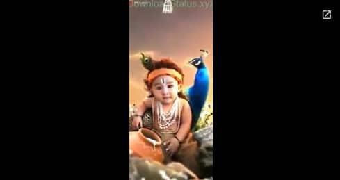 Mn Mast Magan – Krishna Janmashtami Special Status Download