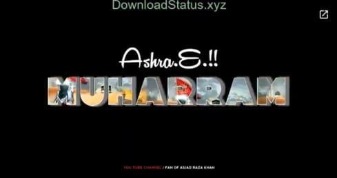 Muharram Special Video Status Download